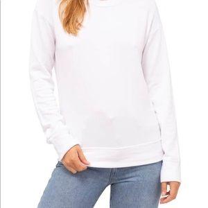 Stateside Anthropologie White Sweatshirt S modal